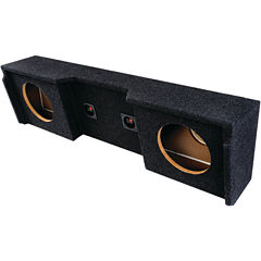 ATREND A152-12CP BBox Series Subwoofer Box for GMVehicles (12IN Dual Downfire)