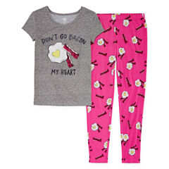 Total Girl 2-pc. Pajama Set Girls
