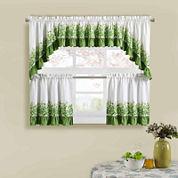 Ivy League Kitchen Curtains