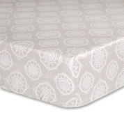 The Peanut Shell® Charlotte Crib Fitted Sheet
