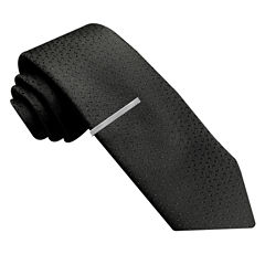 JF J. Ferrar® Abstract Geo Tie with Tie Bar - Slim