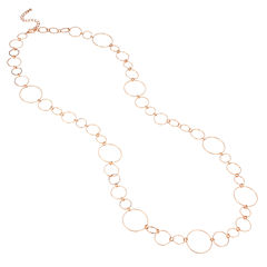 Bold Elements Womens 38 Inch Link Necklace