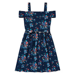Knit Works Belted Off Shoulder Dress - Girls' 7-16
