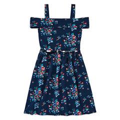 Knit Works Belted Off Shoulder Dress - Girls' 7-16