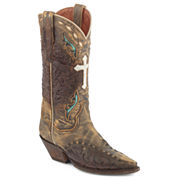Dan Post® Anthem Suede Womens Cowboy Boots