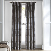 Studio™ Brooklyn Rod-Pocket/Back-Tab Room-Darkening Curtain Panel