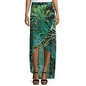 a.n.a® Cross Front Maxi Skirt- Tall