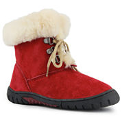 Lamo Bianca Girls Suede Lace-Up Boots - Little Kids/Big Kids Shoes