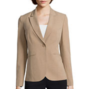 Liz Claiborne® Long-Sleeve Suiting Blazer