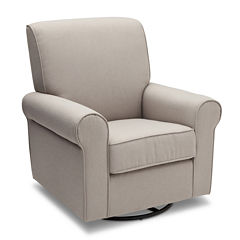 Simmons Kids® Avery Upholstered Glider - Taupe