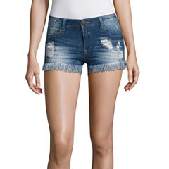 Almost Famous Denim Shorts-Juniors