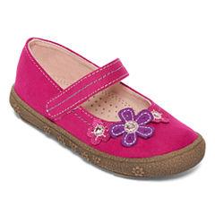Okie Dokie® Bandet Girls Embellished Mary Jane Shoes - Toddler