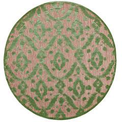 Feizy Rugs® Tahla Ikat Indoor/Outdoor Round Area Rug