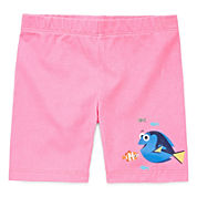 Disney Apparel by Okie Dokie® Denim Bike Shorts - Toddler Girls 2t-5t