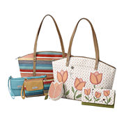 Relic® Floral and Stripe Handbag and Wallet Collection