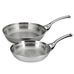 Calphalon® Contemporary Stainless Steel 2-pc. Frying Pan Set