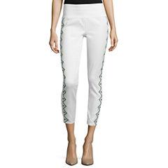 Bisou Bisou® Embroidered Shaper Leggings