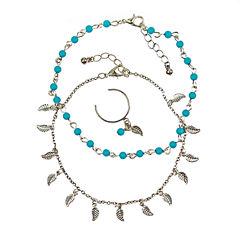 Arizona Womens 3-pc. Jewelry Set