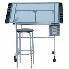 2-Pc. Vision Craft Center Standing Desk