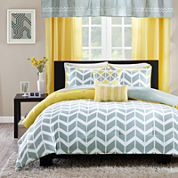 Ideology Elle Chevron Comforter Set & Accessories