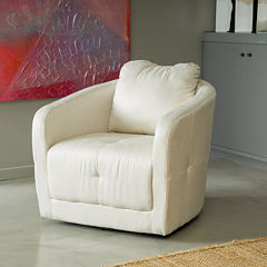 Carrie Fabric Swivel Chair