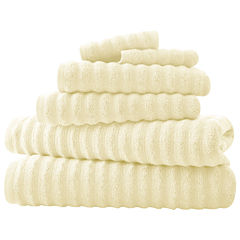 Pacific Coast Textiles Luxury Spa Collection Wavy 6-pc. Bath Towel Set
