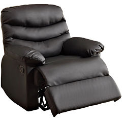 Desert Valley Faux-Leather Recliner