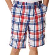 PGA TOUR® Plaid Madras Shorts
