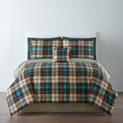 Home Expressions™ Decklan Plaid Comforter & Sheet Set