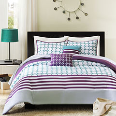 Intelligent Design Lacey Geometric Comforter Set
