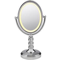 Conair® Oval Crystal Ball Mirror