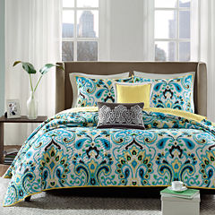 Madison Park Chantel 5-pc. Quilted Paisley Coverlet Set