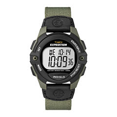 Timex® Expedition® Mens Digital Chronograph Watch T499937R