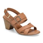 Eurosoft™ Maria Leather Heeled Sandals