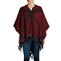 Mixit™ Aztec Wrap with Fringe