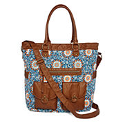 Arizona Double Pocket Floral Tote