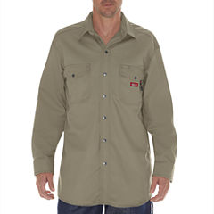 Dickies Button-Front Shirt