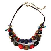Aris by Treska 2-Row Chunky Necklace