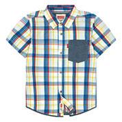 Levi's Boys Long Sleeve Button-Front Shirt - Boys 8-20