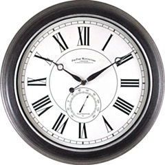 FirsTime® Summit Indoor/Outdoor Wall Clock
