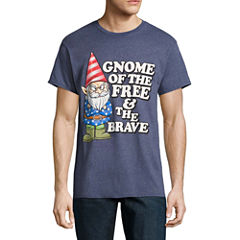 Gnome Of The Free Short-Sleeve Graphic T-Shirt
