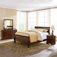 Signature Design by Ashley® Rudolph Bedroom Package + FREE Sierra Sleep Plush Mattress Set
