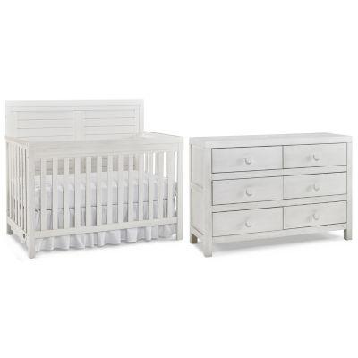Tiamo Castello 2 PC Baby Furniture Set  Seashell