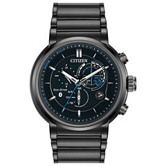 Citizen® Eco-Drive Mens Black Ion Plated Proximity Watch Bz1005-51E