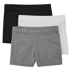 Maidenform 3-pc. Solid Playground Shorts