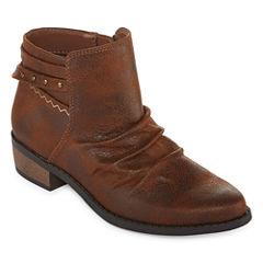 Arizona Bonelle Girls Cowboy Boots - Little Kids