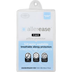 Allerease Hot Water Washable Pillow Protector