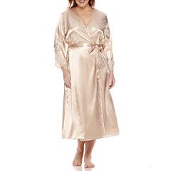 Flora Stella Charmeuse Robe - Plus