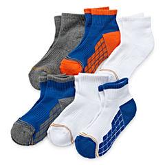 Gold Toe® 6-pk. Ultra Tec Quarter Socks - Boys