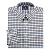 Stafford® Travel Long-Sleeve Wrinkle-Free Oxford Dress Shirt